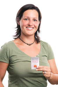 Spenderin Mandy Rogge